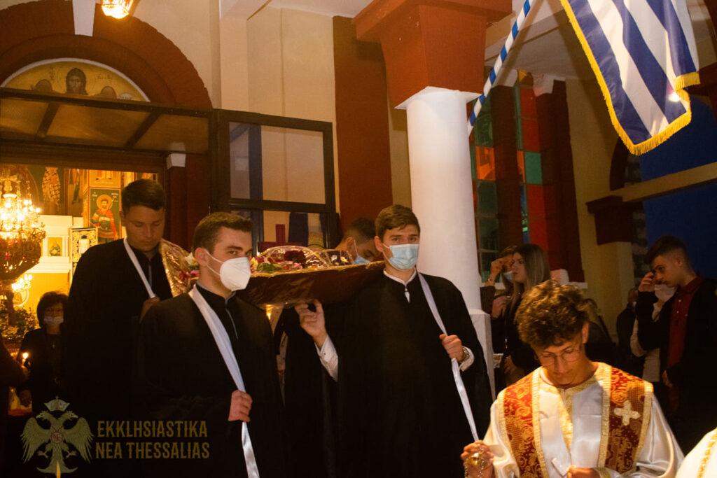 13 1024x683 - Η ακολουθία του Επιτάφιου στον Τύρναβο (φωτο)