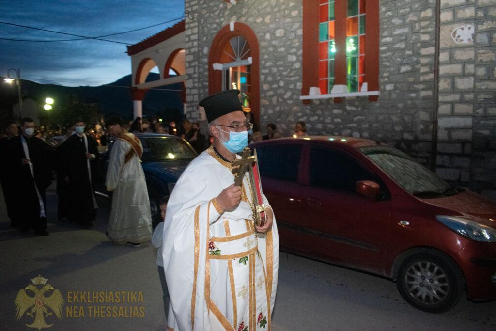 14 1024x683 - Η ακολουθία του Επιτάφιου στον Τύρναβο (φωτο)