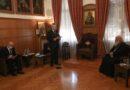 Χαρακόπουλος προς αρχιεπίσκοπο οι νουθεσίες  σας μείωσαν τις επιδράσεις των αρνητών της πανδημίας συνάντηση με την ηγεσία της ΔΣΟ
