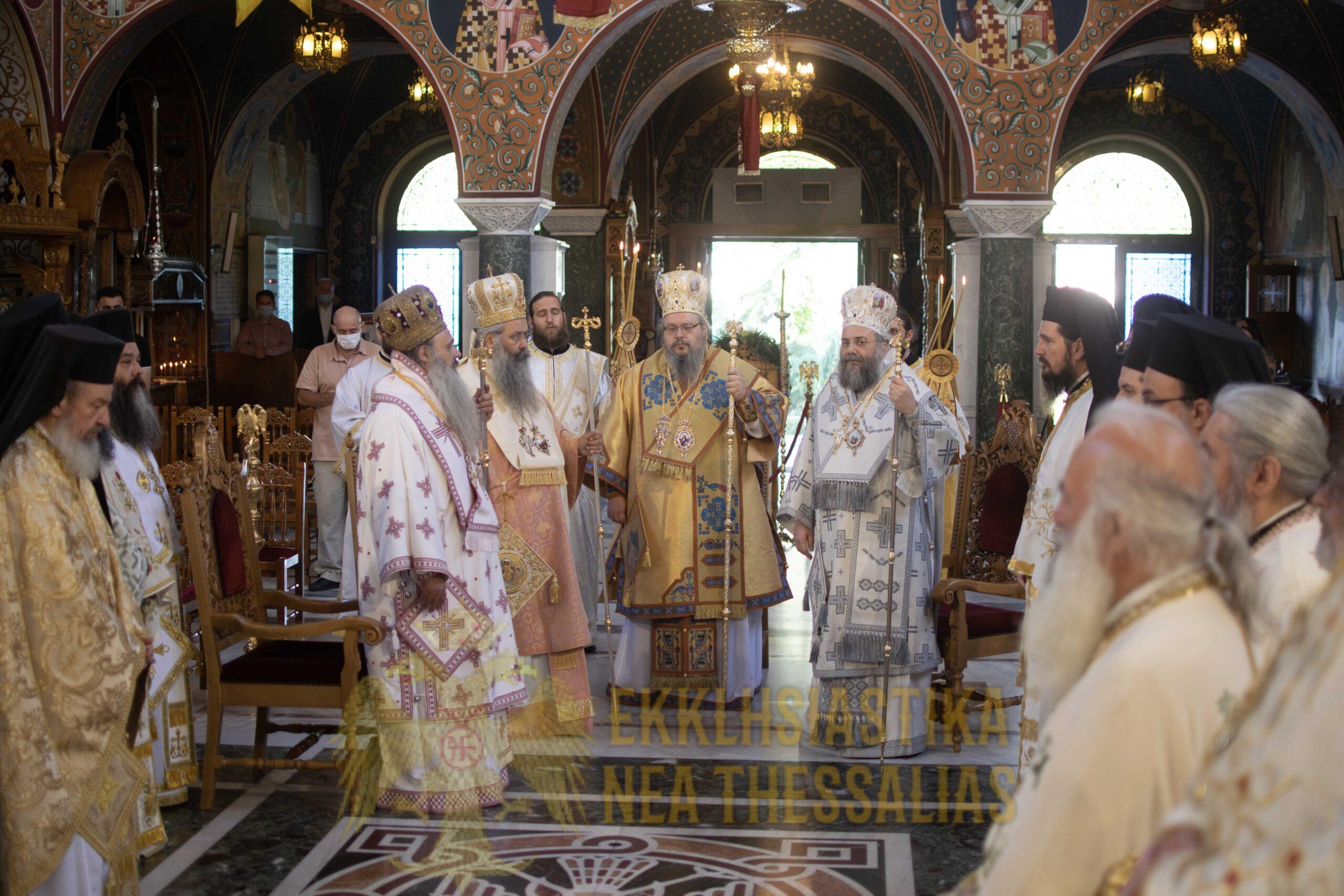 Tα Ονομαστήρια του Μητροπολίτου Λαρίσης και Τυρνάβου κ Ιερωνύμου