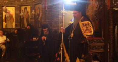 Πολυαρχιερατικός Εσπερινός Στην Ιερά Μονή Αγίων Αυγουστίνου Ιππώνος Και Σεραφείμ Του Σάρωφ Στο Τρίκορφο Φωκίδος