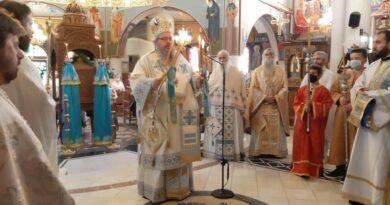 Πανηγυρικά εορτάστηκε η ιερά μνήμη του Προφήτου Ηλιού στην πόλη της Λάρισας